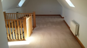 cleaned converted loft carpets