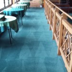 restaurant carpet cleaned