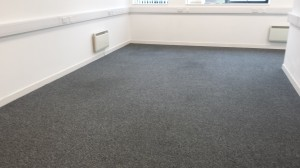 The after picture once clean direct have cleaned the carpet.